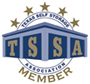 Texas Self Storage Association Logo & Link